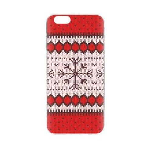 Etui FLAVR Case Ugly Xmas Sweater do Apple iPhone 6/iPhone 6s Czerwony (26664)