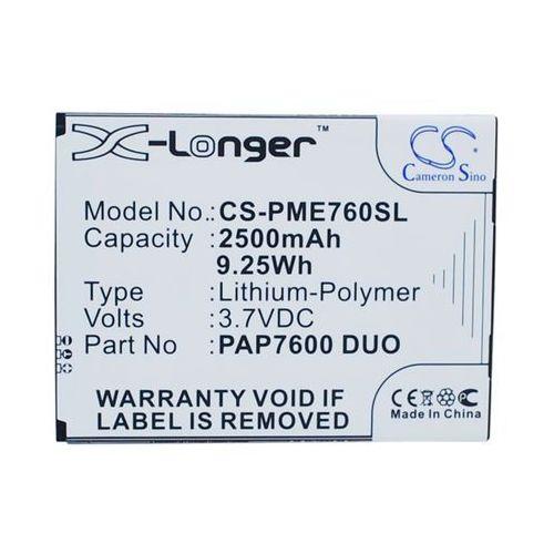 Cameron sino Prestigio multiphone 7600 duo / pap7600 duo 2500mah 9.25wh li-polymer 3.7v ()