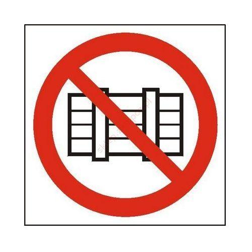 Znak nie zastawiać pb marki Techem