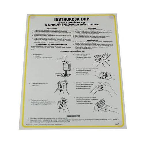 Instrukcja - techniki mycia i dezynfekcji rąk, IAO47DNCN