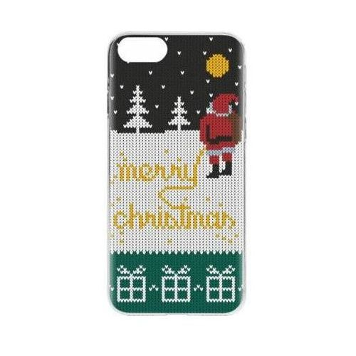 Etui FLAVR Case Ugly Xmas Sweater Yellow Snow do Apple iPhone 7/iPhone 8 Wielokolorowy