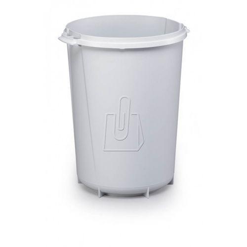 Pojemnik na śmieci durabin round 40l szary 1800519050 6 szt. marki Durable