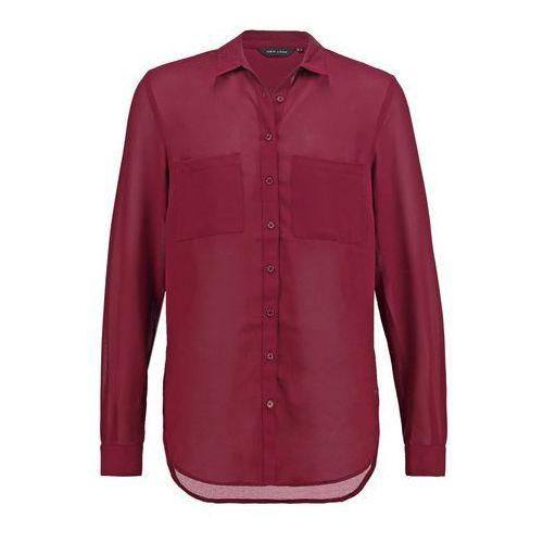 New Look POPCORN Koszula burgundy - oferta [05ac4070e7b545a4]