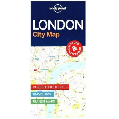 Lonely Planet London City Map (2016)