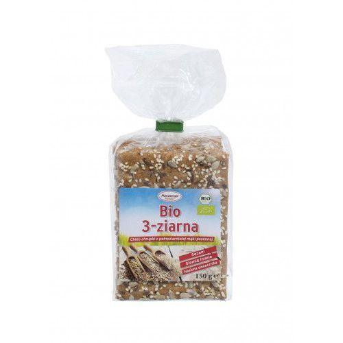 Chleb chrupki BIO 3 ziarna pełnoziarnisty 150g Benus