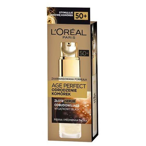 Loreal Age Perfect Odrodzenie Komórek 50+, złote serum odbudowujące 30ml - produkt z kategorii- kremy na noc