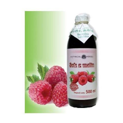 Sok z malin 100% naturalny - 500 ml