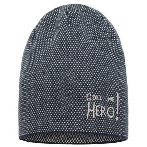 Broel czapka chłopięca christian 49 - 51 niebieski