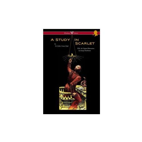 Study in Scarlet (Wisehouse Classics Edition - With Original Illustrations by George Hutchinson) (9789176372432)