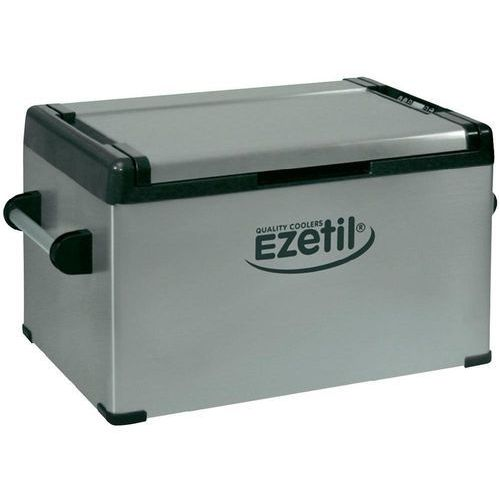 Lodówka turystyczna EZC60, sprężarkowa Ezetil 778775, 12 V, 24 V, 110 V, 230 V, 58 l, 24.2 kg, Srebrny - produkt z kategorii- lodówki turystyczne