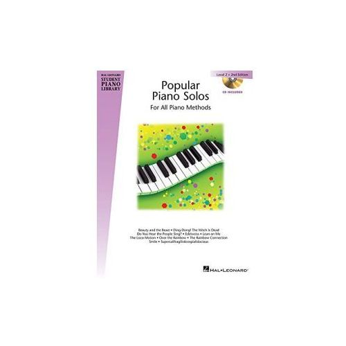 Hal Leonard Student Piano Library: Popular Piano Solos. 2nd Edition. Level 2 (9781480385160)