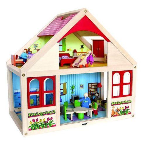 WOODY Dom dla lalek Veronika, produkt marki Woody