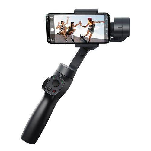 3 osiowy gimbal do telefonu smartfona ręczny stabilizator obrazu do filmów i zdjęć live vlog youtube tiktok szary (suyt-0g) marki Baseus