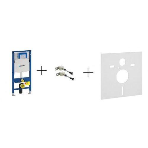 Geberit Duofix stelaż podtynkowy z wspornikami i przekładką do misek WC wiszących UP320 Sigma H112