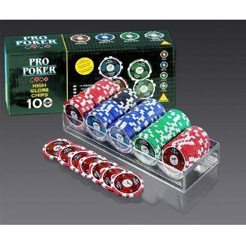 Poker 100 żetonów Piatnik, 32427
