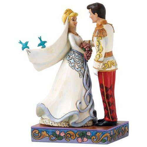 Ślubna para kopciuszek i książe happily ever after (cinderella & prince figurine) 4056748 artysty figurka ozdoba świąteczna marki Jim shore