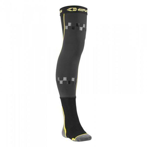 fusion sock black/hi viz yellow skarpety off-road marki Evs