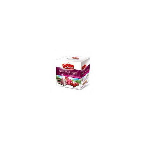 Celmar - Czerwona herbata z malinami i żurawiną 20 torebek