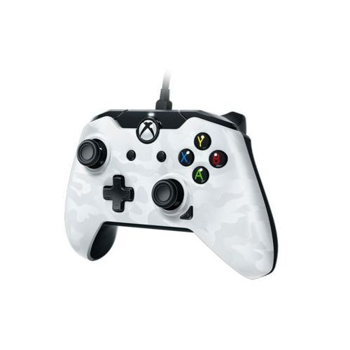 deluxe wired controller - white camouflage - gamepad - microsoft xbox one s marki Pdp