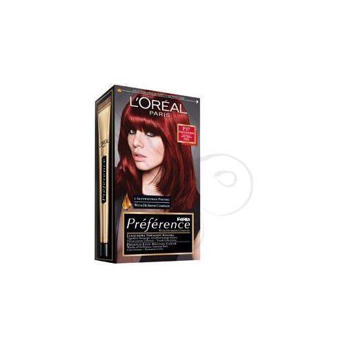 Feria Preference farba do włosów P37 Pure Plum Power Intensywna ciemna czerwień, L'Oreal Paris