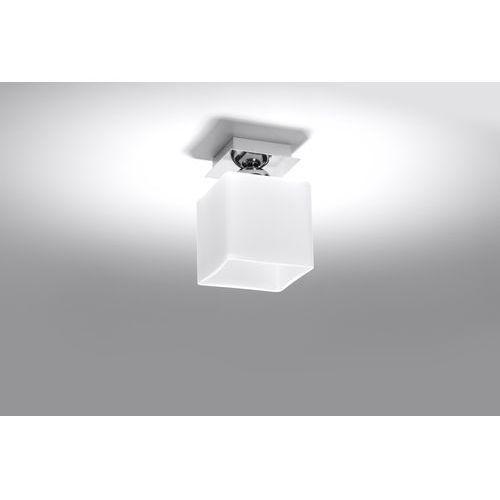 Lampa sufitowa PIAZZA 1 chrom SL.0225 - Sollux - Rabat w koszyku, SL.0225