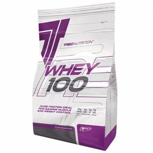 Odżywka białkowa - whey 100 - 2000g, smaki: wanilia najlepszy produkt marki Trec