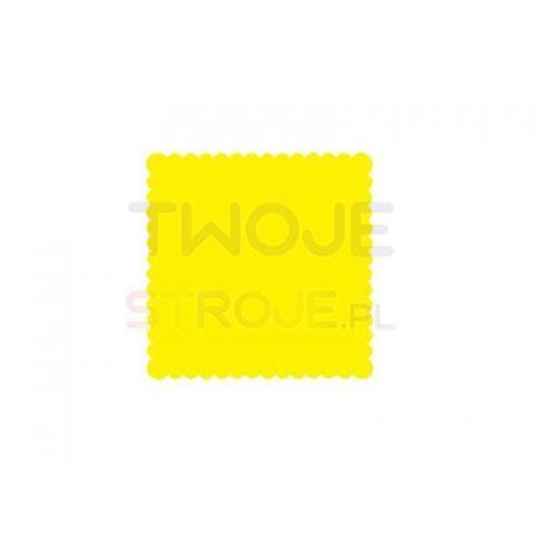 Twojestroje.pl Serwetki jednowarstwowe żółte 15x15cm 200szt