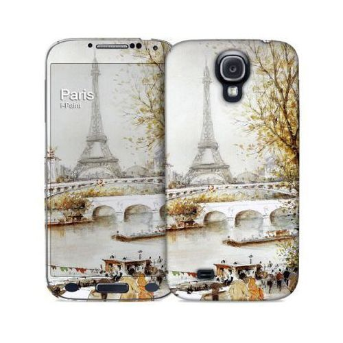 Pokrowiec I-PAINT Hard Case + Skin do Galaxy S4 Paris Painting (8053264079277)