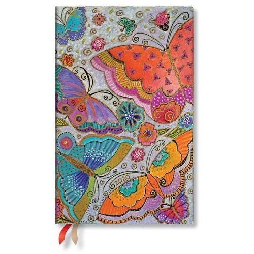 Kalendarz 2020 książkowy Maxi Vertical Flutterbyes 12m