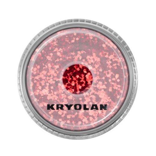 polyester glimmer coarse (bright red) gruby sypki brokat - bright red (2901) marki Kryolan