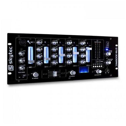 Skytec Stm-3005rec 4-kanałowy mikser dla djów usb mp3 rec eq