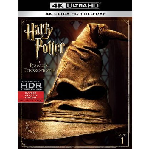 Harry Potter i Kamień Filozoficzny 4K (Blu-ray) - Chris Columbus DARMOWA DOSTAWA KIOSK RUCHU (7321999347574)