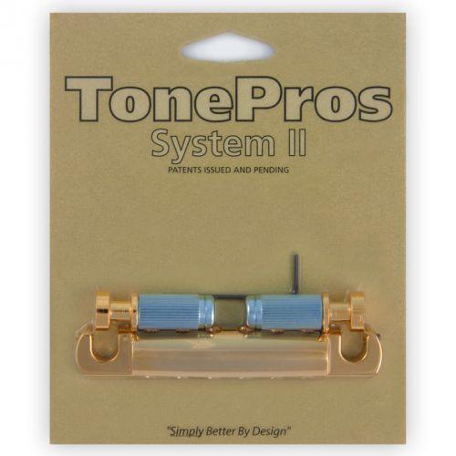 t1zsa-g - tailpiece, części mostka do gitary, złote marki Tonepros