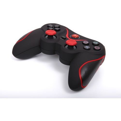 Kontroler 1BANDIT A8 Czarno-czerwony (PS3)