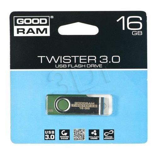 twister 16gb usb 3.0 (zielony) od producenta Goodram