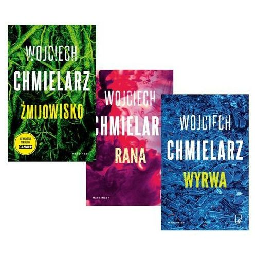 PAKIET Chmielarz - Żmijowisko + Rana + Wyrwa, Wojciech Chmielarz