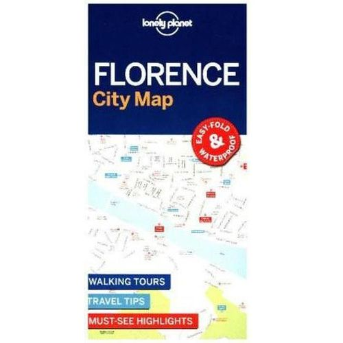 Lonely Planet Florence City Map (2 str.)