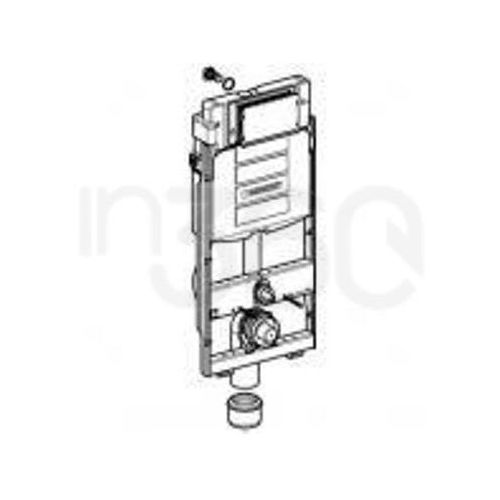 Produkt z kategorii- stelaże i zestawy podtynkowe - Geberit GIS - element montażowy do WC, UP320, Sigma, H114 461.311.00.5