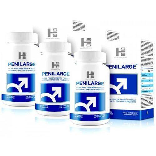 Penilarge 180 kapsułek (tabletek) powiększające penisa zestaw 2+1