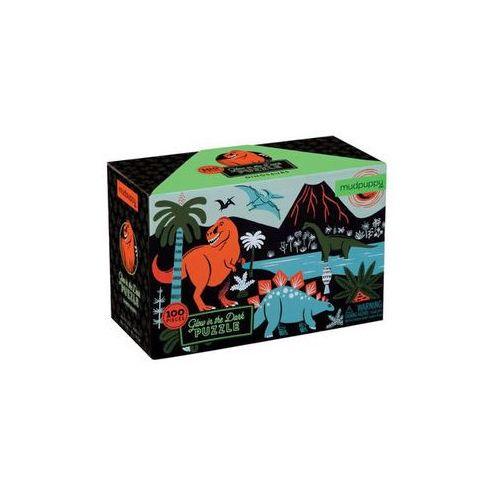 Neuveden Glow in dark puzzle: dinosaurs/zářící puzzle: dinosauři (100 dílků) (9780735345720)