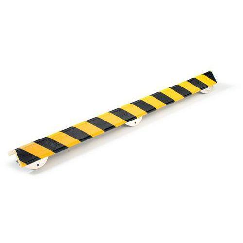 Profil ostrzegawczy i ochronny knuffi®,dł. 1000 mm, przekrój: duży półteownik marki Shg pur-profile