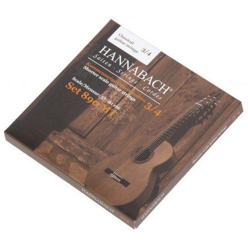Hannabach (653089) 890 mt struny do gitary klasycznej 3/4, menzura 57-61cm (medium)
