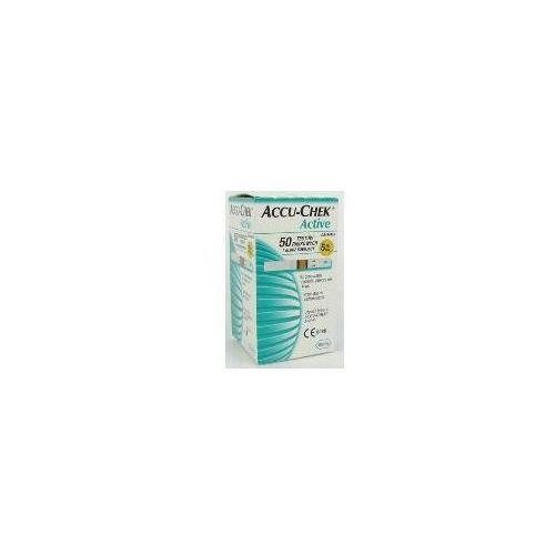 Roche diagnostics Paski testowe accu-check active 50szt