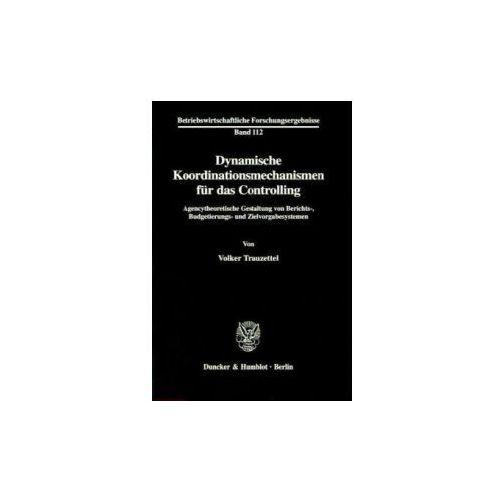 Dynamische Koordinationsmechanismen für das Controlling