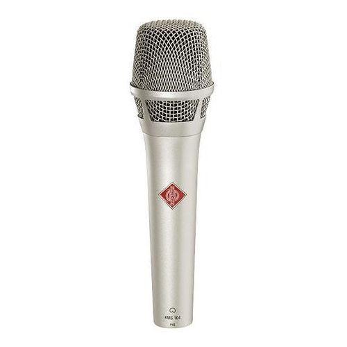 Neumann KMS 104 mikrofon pojemnościowy, kolor niklowy