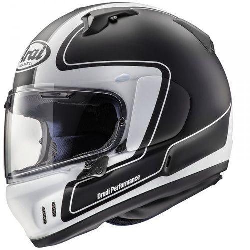KASK ARAI RENEGADE-V OUTLINE FROST BLACK
