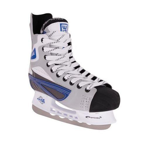 Łyżwy hokejowe SPOKEY Rage 44 (łyżwy dla dzieci)