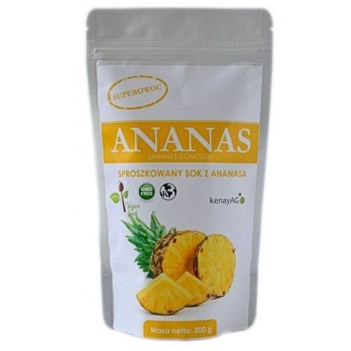 Kenay ag Ananas sproszkowany sok 200g