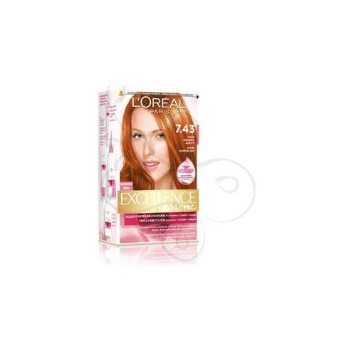 Excellence Creme farba do włosów 7.43 Blond Miedziano-Złocisty, L'Oreal Paris