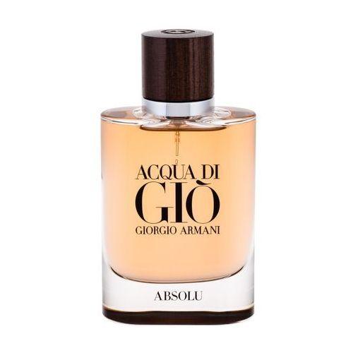 Giorgio armani acqua di gio absolu woda perfumowana 75 ml dla mężczyzn (3614271992901)